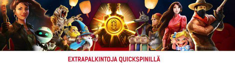 Redbet Quickspin -saavutuksia