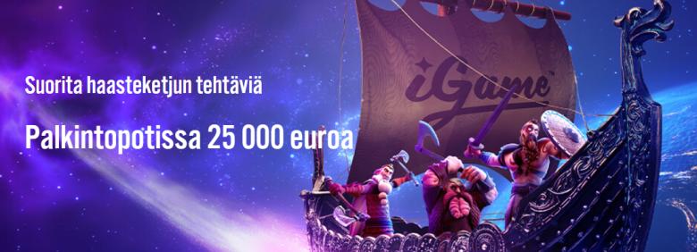 iGame 25 000 euron arvoinen haaste