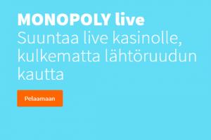 Betsson MONOPOLY live ja 30 000 euroa