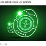 Kerää Unibetin Livekasinolla pääsiäismunia