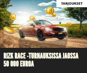 Rizk Race ja 50 000 euroa