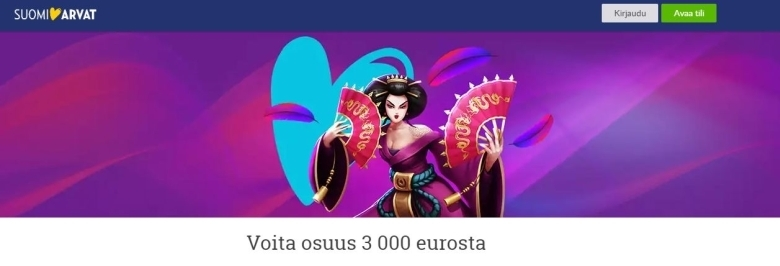 Suomiarvat - voita osa 3000 eurosta