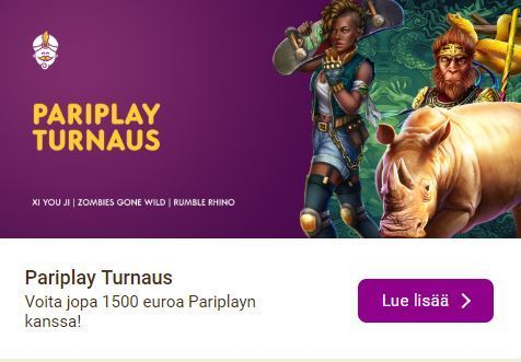 Wild Sultan ja Pariplay turnaus