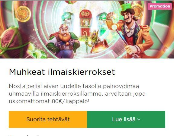 Missä On Pienin Panos Mr Green Kasinolla