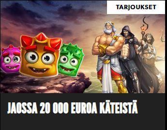 Rizk - 20 000 euroa