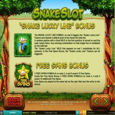 Snake Slot -peli