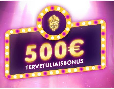 Wild Sultan ja 500 euron bonus