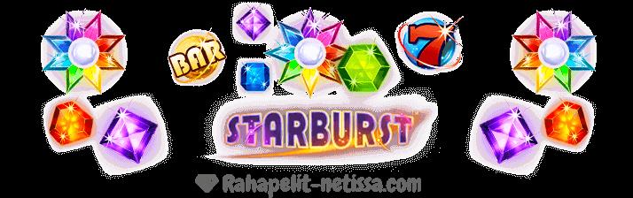 Ilmaiskierroksia Starburst peliin