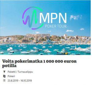 Paf - pokerimatka Maltalle