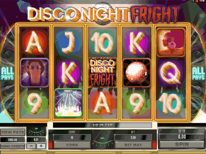 Disco Night Fright iframe
