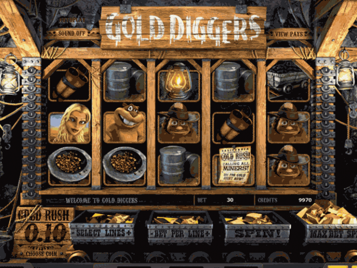 Gold Diggers iframe