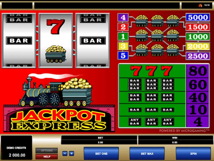 Jackpot Express iframe