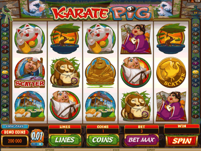 Karate Pig iframe