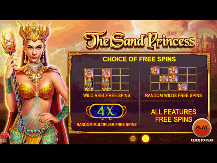 The Sand Princess iframe