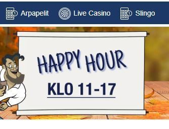 Finlandia Casino ja Happy Hour