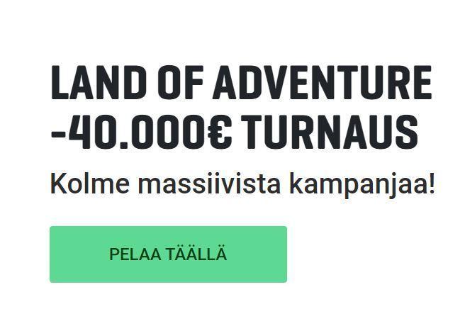 Guts - 40 000 euron kampanja