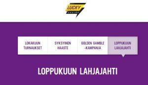 Lucky Casinon lahjajahti