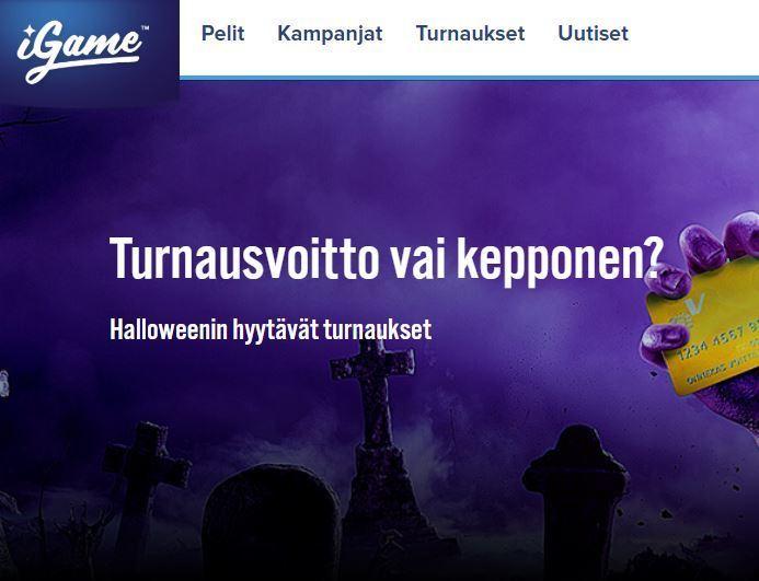 iGame ja Halloween