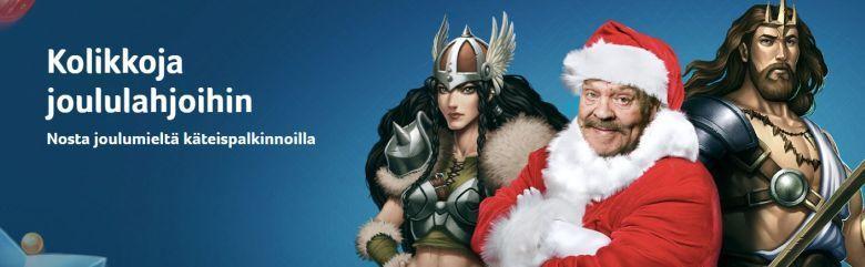 Kolikkopelien joulumieli -kampanja