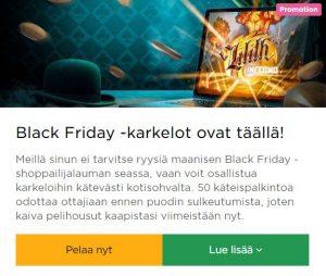 Mr Green - Black Friday