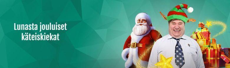 Casinohuone ja joulukiekat