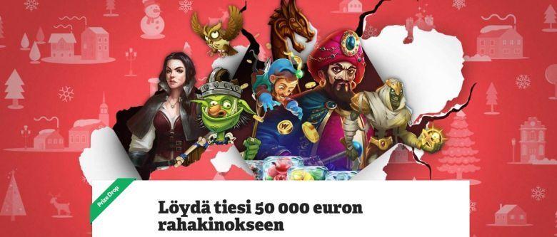 Paf - 50 000 euron potti