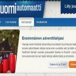 Suomiautomaatti - adventtilahja