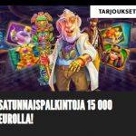 Rizkin 15 000 euron palkintopotti
