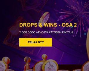Drops ja Wins 2 -kampanja