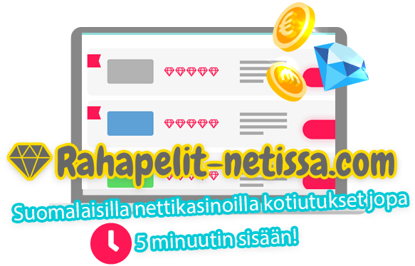 Parhaat suomalaiset nettikasinot tarjoaa Rahapelit-netissa.com
